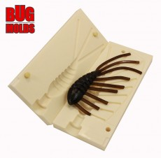 Fishing soft bait mold Gammarus 1,25 inch model ID B15 from Bugmolds