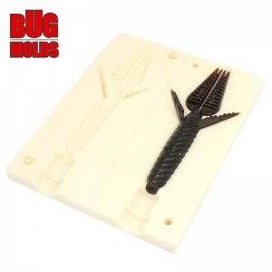 Fishing soft bait mold WhyNot 4,4 inch model ID C191 from Bugmolds
