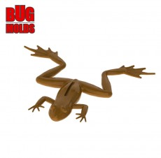 Fishing soft bait mold FrogFlippers 2,6 inch model ID C332 from Bugmolds