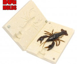 Fishing soft bait mold RealCrayfish 3,75 inch model ID C345 from Bugmolds