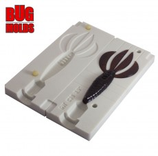 Fishing soft bait mold PitBoss 3,5 inch model ID C39 from Bugmolds
