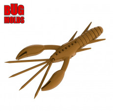 Fishing soft bait mold DoliveCraw 6 inch model ID C481 from Bugmolds