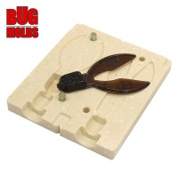 Fishing soft bait mold SuperChunk 2,8 inch model ID C66 from Bugmolds