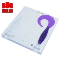 Fishing soft bait mold AngrySpin 3 inch model ID T128 from Bugmolds
