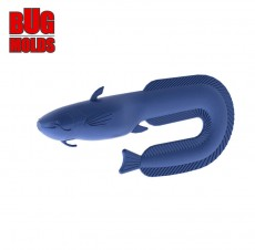 Fishing soft bait mold Catfish 4 inch model ID T239 from Bugmolds
