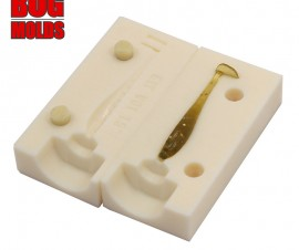 Fishing soft bait mold NanoMinnow 1,5 inch model ID V01 from Bugmolds