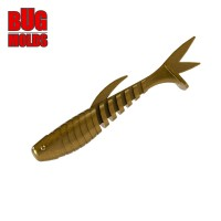 Fishing soft bait mold Minnow 3 inch model ID V12 from Bugmolds