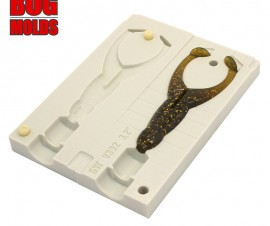 Fishing soft bait mold SizmicToad 3,2 inch model ID V392 from Bugmolds