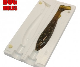 Fishing soft bait mold Mcrubber 8,6 inch model ID V438 from Bugmolds