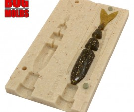 Fishing soft bait mold Javalon 4,3 inch model ID W246 from Bugmolds